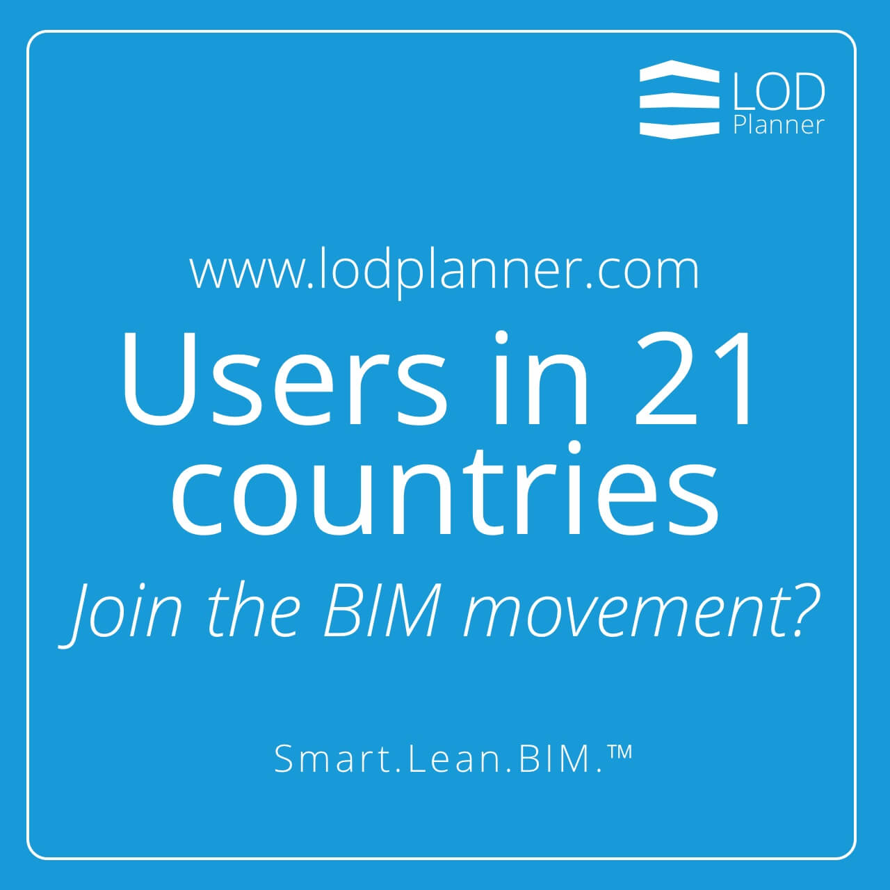 Simple BIM Management Users In 21 Countries Join The Movement