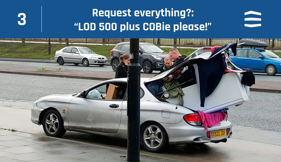 LOD 500 plus COBie