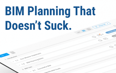 BIM Planning That Doesn't Suck.