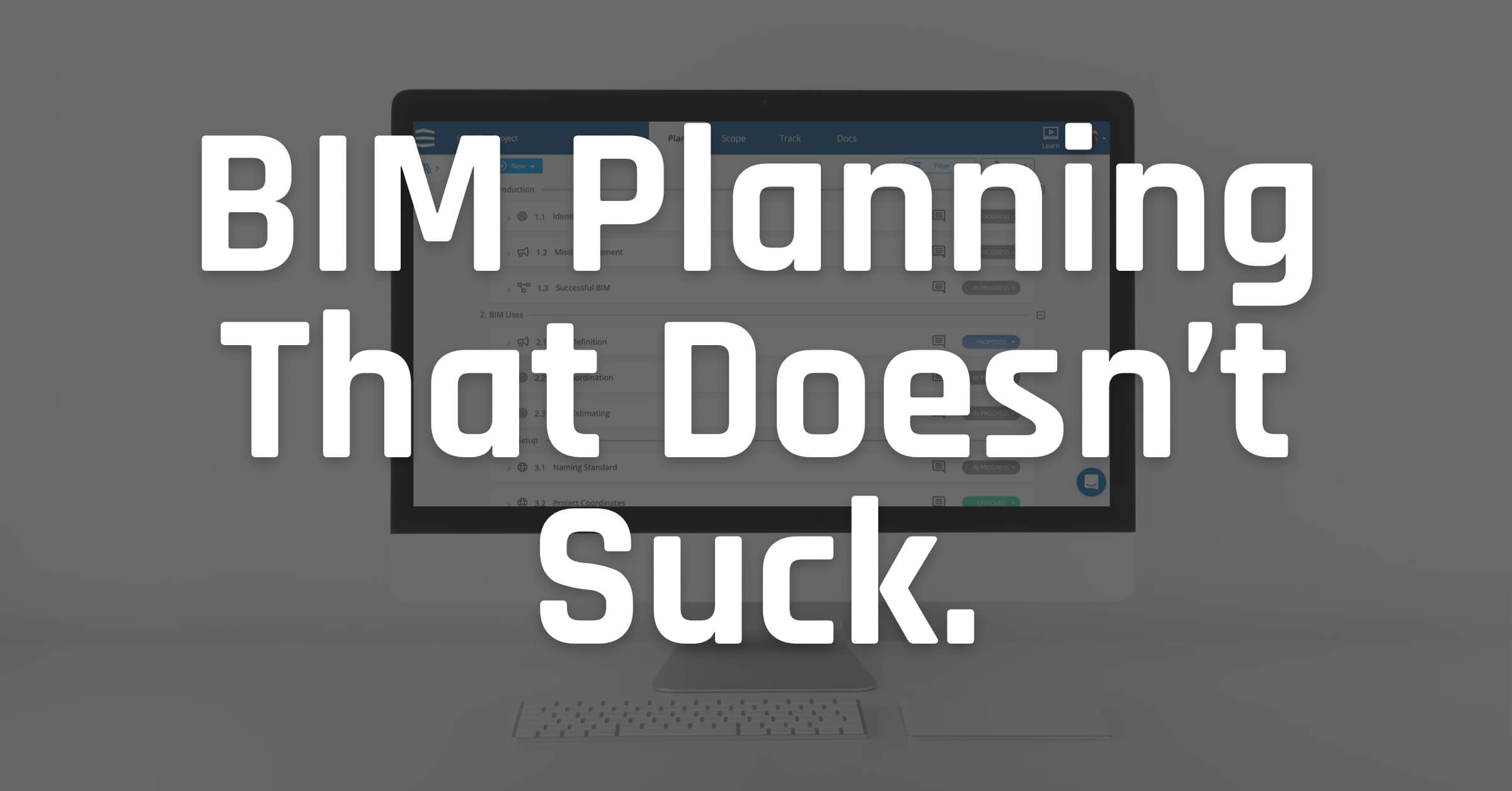 BIM Project Planning