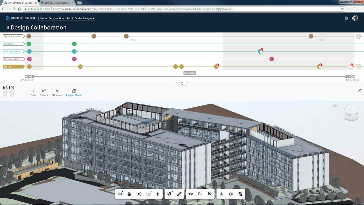 BIM Software - Autodesk BIM 360 Screenshot