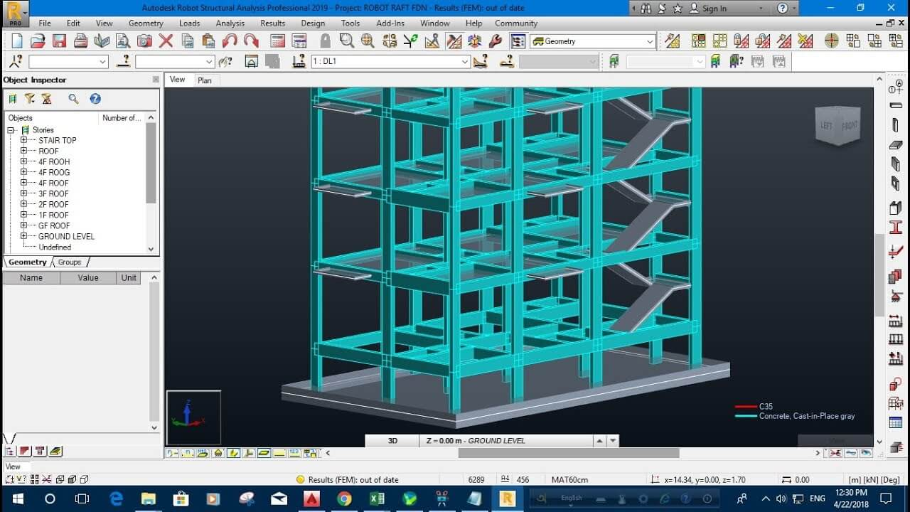 BIM Software - Robot Structural Analysis