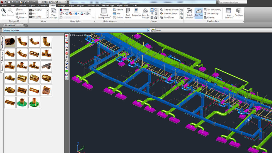 BIM Software - CADMEP Screenshot