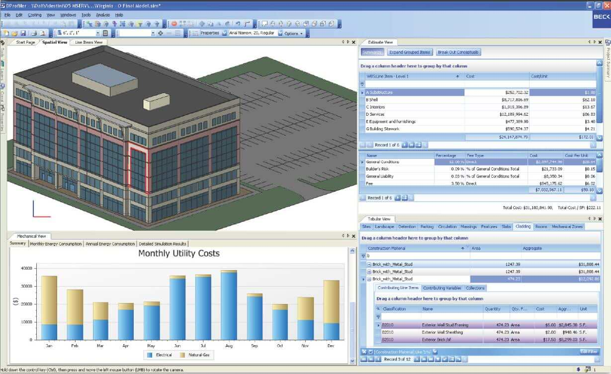 BIM Software - Dprofiler