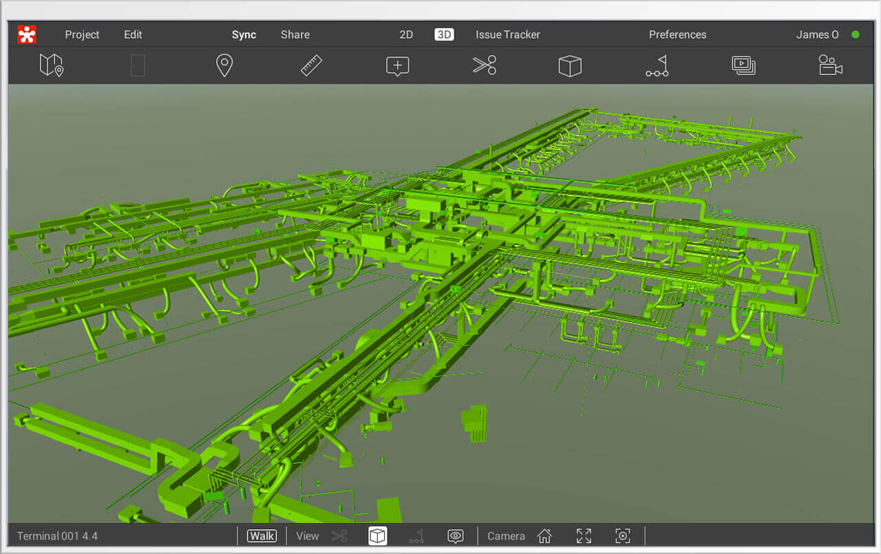 BIM Software - Revizto Screenshot