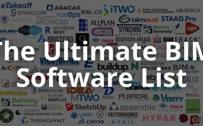 The Ultimate BIM Software List For 2019